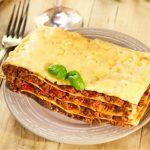 Wellness met lasagne